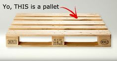Serio? Vox editor has no clue what a pallet is … someone get out the puppets and crayons