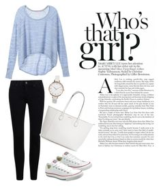 """""""lazyday ootd """" by suvisfi on Polyvore featuring Victoria's Secret, Converse and ASOS Curve"""