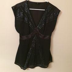 Express Dress Shirt Beaded dress shirt Express Tops Blouses