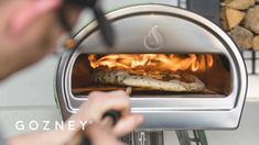 Interested in Roccbox but worried that your pizzaiolo skills aren't up to scratch? Fear not, pizza-making guru and street-vendor Adam Atkins from Peddling Pi. Street Vendor, How To Make Pizza, Cheese Ball, Dough Recipe, Atkins, Oven, Food And Drink, Fire, Make It Yourself