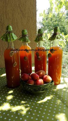 Sárgabarack szörp Apricot syrup