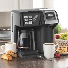 Discover the Hamilton Beach FlexBrew Coffee Maker. Explore items related to the Hamilton Beach FlexBrew Coffee Maker. Organize & share your favorite things (including wish lists) with friends. Coffee Maker Reviews, Best Coffee Maker, Drip Coffee Maker, Best Espresso, Espresso Coffee, Italian Espresso, Joe Coffee, Coffee Nook, Coffee Coffee