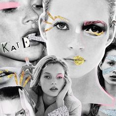 Kate Moss, Past, Joker, Collage, Instagram Posts, Movie Posters, Fictional Characters, Fashion, Moda