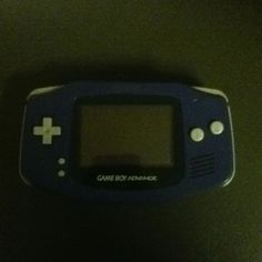 Ninetendo Gameboy Advance.