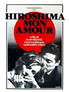 """film """"Hiroshima mon amour"""" d'Alain Resnais - d'après le roman de Marguerite Duras - sortie 1959"""