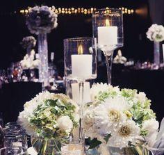 High & low wedding centrepieces | Bouquet Melbourne