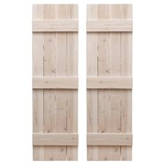 Sold as a set of 2 shutters. Naturally rot-resistant. Includes mounting hardware. Made in the USA. Wide variety of styles, sizes, and finish options. Adaptable for indoor use as well. Dogberry 14-in W x 60-in H Whitewash Board and Batten Wood Exterior Shutters | WTRAD1460WHITDOUB Outdoor Shutters, Cedar Shutters, White Shutters, Wooden Shutters, Exterior Shutters, Farmhouse Shutters, Ranch Exterior, Window Shutters, Modern Exterior