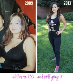 """Meet the Owner of #NoBullWomanApparel.. Sara. She lost an incredible 27 lbs from 2009 - 2013 through hard conditioning work and diet. Her secret? """"Hard Work & Consistency"""". Follow our boards to see more of her journey! #WeightLoss #Health"""