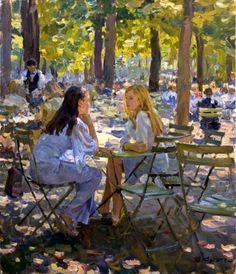 «Two friends»; 92х73;  oil on canvas; 2004.