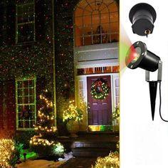 2 in 1 #Dynamic #Lighting #Star #projector #laser #spotlight Green ...