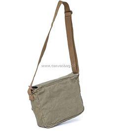Army Style Canvas Messenger Shoulder Bag (4)
