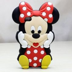 Amazon.com: Deco Fairy Branded 3D Cute Cartoon Mouse Soft Silicone Case Cover for Iphone 4 and 4S: Cell Phones & Accessories