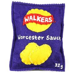 Lucy Sparrow - Walkers Crisps - Worcester Sauce / Editions / No Walls Gallery, Brighton