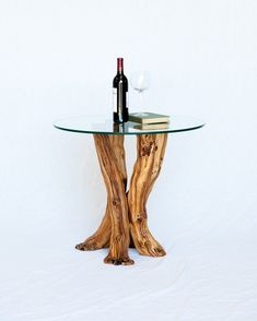 Old Vine Grapevine Side Table  Fiano  100 by winecountrycraftsman, $800.00