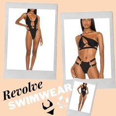 Sexy Swimsuits From Revolve! Sexy swim, one piece bathingsuits, swimsuits, sexy bathingsuits #sexyswim Beach Vacation Outfits, Miami Fashion, Love Her Style, Affordable Fashion, Cute Outfits, Swimsuits, Fashion Looks, Sexy, Shopping