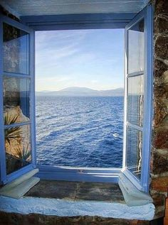 #ocean #window #view