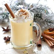 Looking for a seasonal drink without loading up on sugar, calories and cream? Take a sip of this reinvented classic. With a li'l help from Elana's Pantry, we've pulled together a creamy (but without the cream!) eggnog recipe—without the egg! This baby is dairy free, egg free and gluten free.