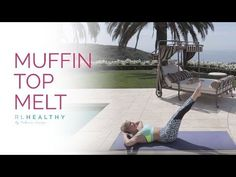 Muffin Top Melt Workout | Rebecca Louise - YouTube