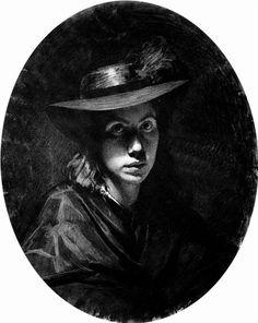 Portrait of Sofia Nikolaevna Kramskoy  - Ivan Kramskoy - WikiArt.org