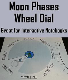 This activity allows students to shade in and label each phase of the Moon and cycle through each using a wheel. This activity is a great addition to any science interactive notebook. This product includes the following 4 pages: 1. Moon phase board for students to shade in and label. 2. Color Wheel with instructions 3. Ink friendly black and white wheel 4. Answer board