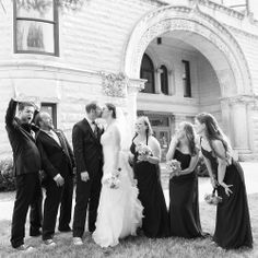 Some fun with the bride and groom.   www.nathanieledmunds.com