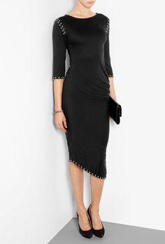 Pierced S-Bend Dress by McQ Alexander McQueen