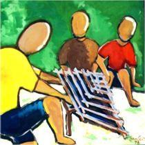 Ivan Cruz, artista plástico, nasceu em 1947 nos subúrbios do Rio de Janeiro, e brincava pelas ruas de seu bairro como toda criança… Apesar de amante da Arte, enveredou-se pelo caminho do Dire… Ivan Cruz, Stencils, Alice, Education, Curriculum, Youtube, Kids Playing, Charms, Frames