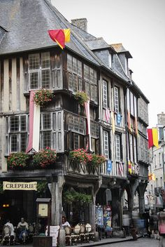 Dinan ~ France. Our tips for 25 Places to Visit in France: http://www.europealacarte.co.uk/blog/2011/12/22/what-to-see-in-france/