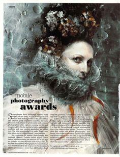 California Home & Design Magazine Feature on the Mobile Photo Awards