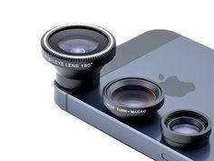 Acesori 5 Piece Smartphone Camera Lens Kit for $9