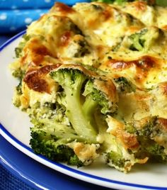 Broccoli and Cheese Baked