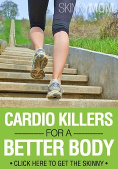 Get your heart rate up and your body fat down with these cardio exercises! Buh-bye boring runs.