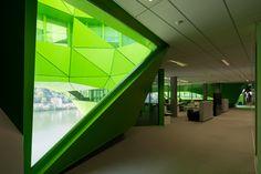 jakob macfarlane green cube euronews headquarters lyon confluence france designboom