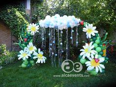 #Balloon Decorations#Garden Theme#Open Area decorations#Hanging decorations#Birthday decorations