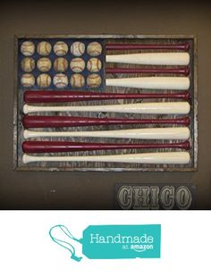 Baseball Bat American Flag from Chico Lumber Company http://www.amazon.com/dp/B018B8GRQ8/ref=hnd_sw_r_pi_dp_WCRFwb1RJR846 #handmadeatamazon