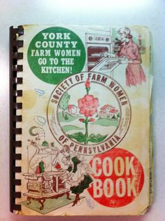 Vintage York County Pa Cookbook Society of by LorasVintageShop, $5.00