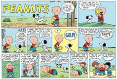 Peanuts Begins by Charles Schulz for Jul 8, 2017   Read Comic Strips at GoComics.com