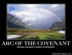 Whether its the arc or the ark of the covenant makes a difference FacebookTwitterLove This Related