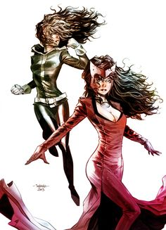 """""""Rogue and Scarlet W"""