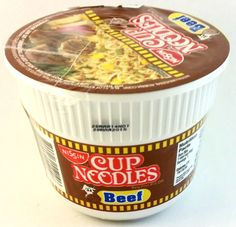 Nissin Cup Noodles Beef Mini Nissin Cup Noodles, Pinoy Food, Nutella, Beef, Mini, Desserts, Meat, Tailgate Desserts, Deserts
