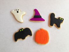 Halloween cookies for your AG Doll or 18 by AGDollSweetsNTreats American Girl Food, Doll Food, Halloween Cookies, Play Food, Ag Dolls, Treat Yourself, Sugar Cookies, Treats, Shapes