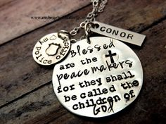 Police officer necklace-police officer wife necklace-fireman wife necklace-personalized police necklace on Etsy, $40.00