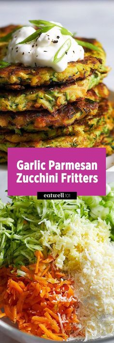 These crispy zucchini fritters are easy to make, low calorie and perfect for going alongside of grilled steak or chicken. Pair with a dollop of sour cream or your favorite greek yogurt! Ingredients… #healthyrecipes