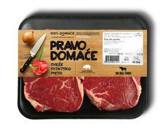 Big Bull Foods   Meat #Packaging design proposals by Marko Vajagic, via Behance