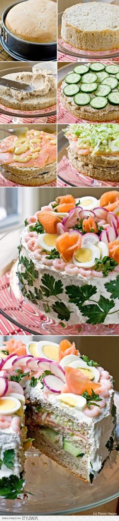 Everything Cake / Sandwich Cake- love this idea! na Stylowi.pl