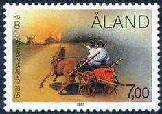 Aland Islands Stamps 1987