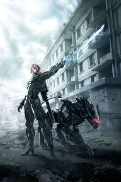 Metal Gear Rising: Revengeance - Raiden & Bladewolf