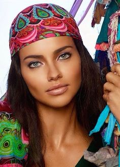 Desigual: La Vida es Chula by Adriana Lima photo by Miguel Reveriego