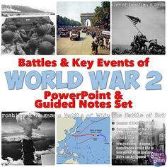 Wwii world war two map activity pacific theater fun interactive world war 2 powerpoint covers all the major battles and events of world war 2 gumiabroncs Images