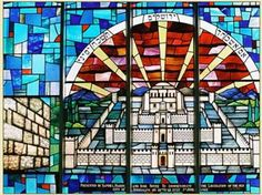 A stained glass window in the Terenure Synagogue on Rathfarnham Road Emoji Faces, Beach Walk, Stained Glass Windows, Google Images, Temple, Applique, Spirituality, History, Quote